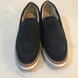 Zara loafer creepers